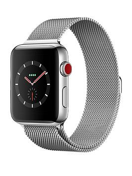 Apple Watch Series 3 Gps Cellular 42Mm Stainless Steel Case With Milanese Loop cheapest retail price
