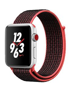 apple-watch-nike-series-3-gps-cellularnbsp42mm-silver-aluminium-case-with-bright-crimsonblack-sport-loop