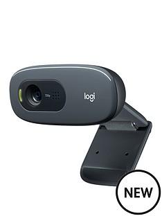 logitech-c270-hd-webcam-black