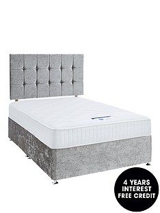 luxe-collection-by-silentnight-fearne-1000-memory-silver-divan-bed-with-storage-options-includes-headboard