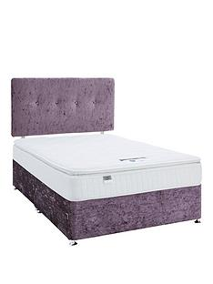 luxe-collection-from-silentnight-francesca-1000-pillowtopnbspdouble-divan-bed-with-storage-options-includes-headboard