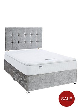 luxe-collection-by-silentnight-fearne-1000-pillowtop-silver-divan-bed-with-storage-options-includes-headboard