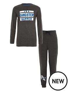river-island-boys-grey-039gangster-napper039-print-pyjama-set
