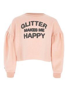 river-island-girls-lsquoglitter-makes-me-happyrsquo-sweatshirt