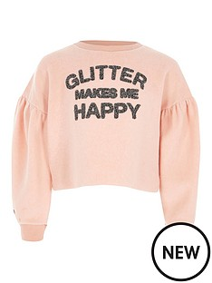 river-island-girls-lsquoglitter-makes-me-happyrsquo-sweatshirt