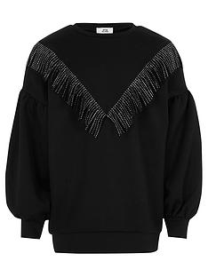 river-island-girls-diamante-tassel-sweat