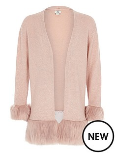 river-island-girls-pink-faux-fur-hem-and-cuff-cardigan
