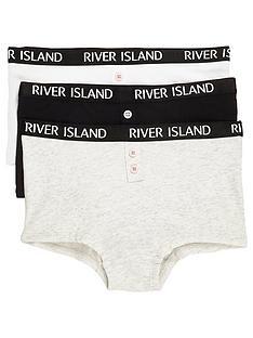 river-island-girls-grey-ri-branded-boxers-multipack