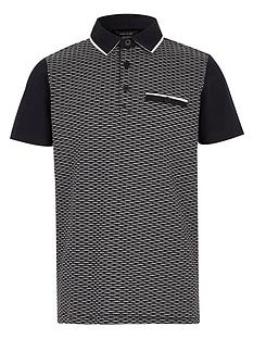 river-island-boys-navy-textured-block-polo-shirt