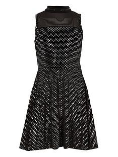 river-island-girls-black-mirror-sequin-velvet-prom-dress