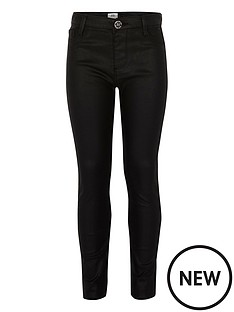 river-island-girls-black-wax-coated-molly-jeggings
