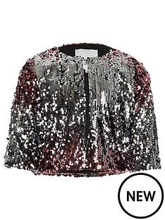 river-island-girls-pink-metallic-ombre-sequin-cape-jacket