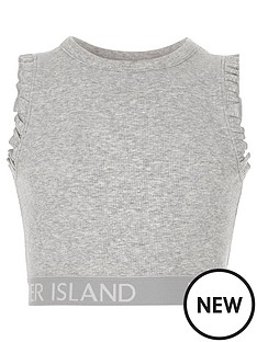 river-island-girls-grey-marl-frill-ri-hem-crop-top