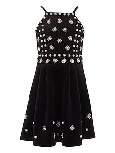 river-island-girls-black-pearl-embellished-velvet-dress