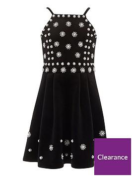 river-island-girls-black-pearl-embellished-velvet-dress