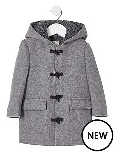 river-island-mini-boys-grey-borg-lined-hood-duffle-coat
