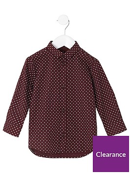 river-island-mini-boys-burgundy-polka-dot-shirt