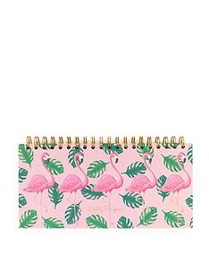 go-stationery-flamingo-weekly-planner