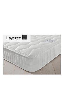 Layezee Layezee Addison 800 Pocket Memory Mattress - Mattress Only Picture