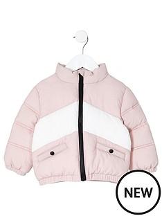 river-island-mini-girls-light-pink-block-padded-jacket