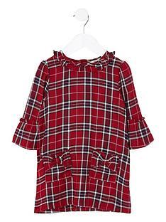 river-island-mini-girls-red-check-bow-pocket-dress