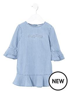 river-island-mini-girls-denim-ruffle-dress