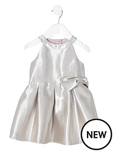 river-island-mini-girls-metallic-silver-bow-prom-dress