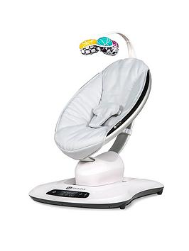 Compare retail prices of 4moms mamaRoo 4.0 Rocker Bouncer Silver Plush Classic Black to get the best deal online