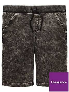 v-by-very-ribbed-jog-shorts-grey
