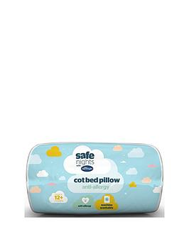 Product photograph showing Silentnight Anti-allergy Cot-bed Pillow