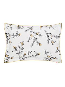 joules-mono-blossom-100-cotton-percale-180-thread-count-oxford-pillowcase