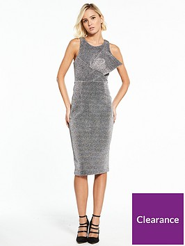 river-island-bodycon-dress--silver