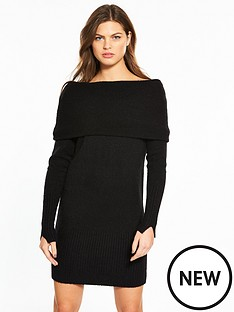 river-island-bardot-dress--black