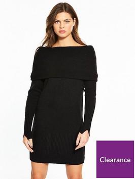 river-island-bardot-dress--black