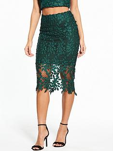 river-island-floral-mesh-pencil-skirt