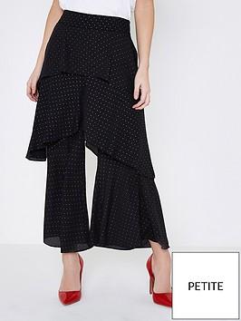ri-petite-teired-frill-trouser--black