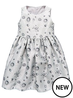 mini-v-by-very-girls-metalic-silver-space-print-dress