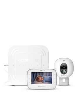 Cheapest price of Angelcare Ac315 Digital Video Movement And Sound 4.3 Inch Screen Baby Monitor in new is £229.99