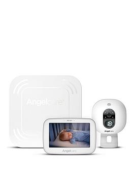 Cheapest price of Angelcare Ac517 Digital Video Wireless Movement Amp Sound 5 Inch Touch Screen Baby Monitor in new is £269.99