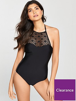 v-by-very-lace-high-neck-swimsuit