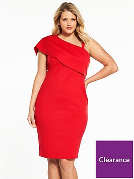 v-by-very-curve-one-shoulder-bodycon-dress