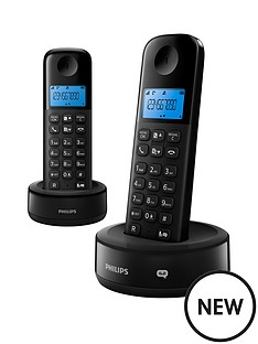 philips-cordless-phone-with-answering-machine-duo-pack