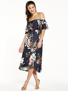 v-by-very-cape-frill-prom-dress