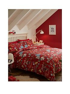 catherine-lansfield-happy-christmas-100-brushed-cotton-duvet-cover-set