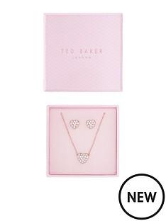 ted-baker-ted-baker-rose-gold-pave-heart-pendant-amp-earrings-set