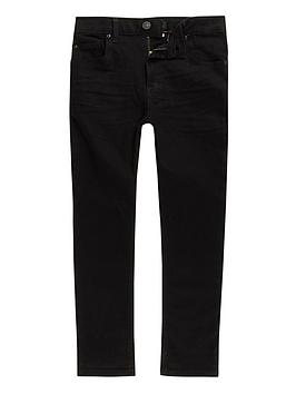 River Island River Island Boys Black Skinny Sid Jeans Picture