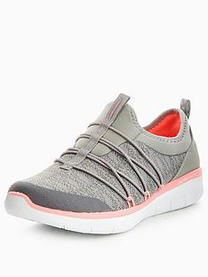 skechers-synergy-20-simply-chic-bungee-trainer-grey