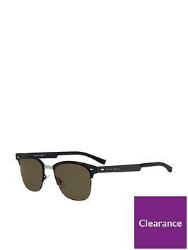 boss-black-blue-brow-bar-sunglasses