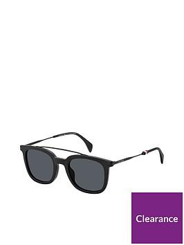 tommy-hilfiger-black-brow-bar-sunglasses