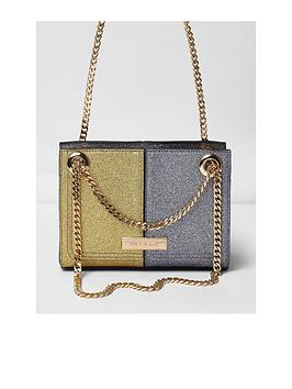river-island-river-island-metallic-glitter-cross-body-bag